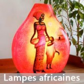 Lampes type africaine