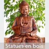Statues en bois