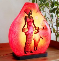 lampe africaine