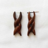 boucles oreilles twister