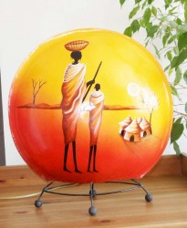 lampe-africaine-eteint-LA001