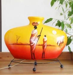 lampe-africaine-eteint-LA002