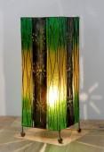 lampe-carre-decor-vertical-vert-eclaire