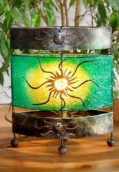 lampe-ovale-soleil-vert-eclaire-LR007
