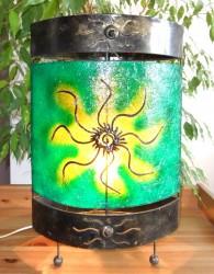lampe-ovale-soleil-vert-eclaire-LR009