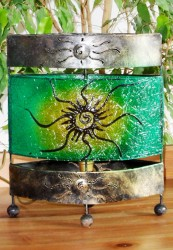 lampe-ovale-soleil-vert-eteint-LR007