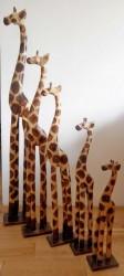 statue girafe