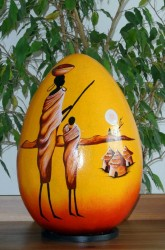 lampe-africaine-eteint-LA013