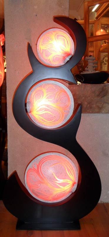 Lampe contemporaine « Harmonie »