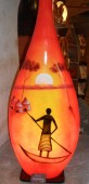 lampe bouteille la barque