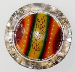 applique plafonnier resine rond cactus