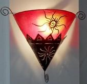 applique triangle soleil