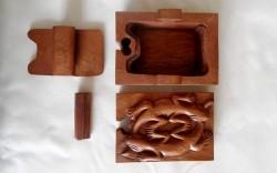 boite carré salamandre