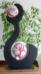 lampe design 2 boules