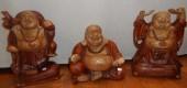 bouddhas rieurs bois gd modeles