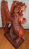 dragon bois 50 cm
