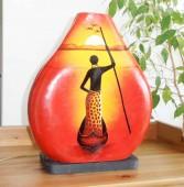 lampe-africaine-eteint-LA005