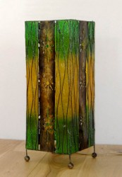 lampe-carre-decor-vertical-vert-eteint