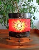 lampe-ovale-soleil-rouge-eclaire-LR004
