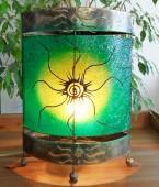 lampe-ovale-soleil-vert-eclaire-LR008