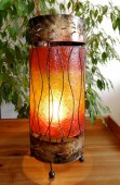 lampe-ronde-rouge-eclaire-LR022