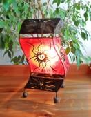 lampe-tordue-rouge-eclaire-LR014