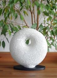 lampe-design-donut-blanc-eteint