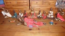 bouddhas resine